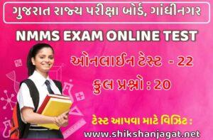 NMMS Exam Online Test 22