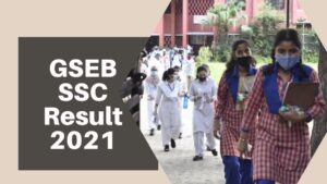 GSEB SSC 10th Result 2021