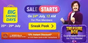 Flipkart Big Saving Day Sale is Live