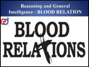 Blood Relations Online Test