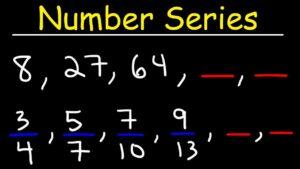 Reasoning Number Series Online Test - 1