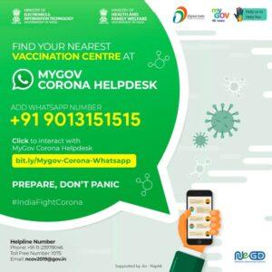 COVID-19 Certificate Download via WhatsApp
