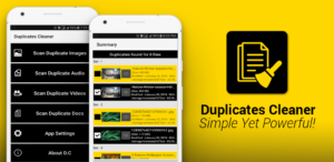 Duplicates Cleaner Application